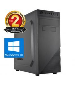 Ordenador pc phoenix topvalue intel core i3 8gb ddr4 240gb ssd micro atx windows 10 - Imagen 1