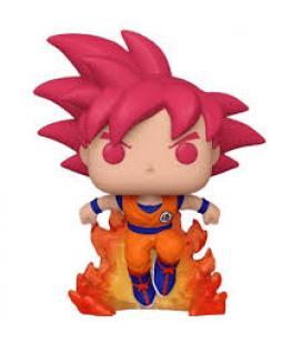 Funko pop dragon ball z goku super saiyan god exclusivo convención verano 2020 - Imagen 1
