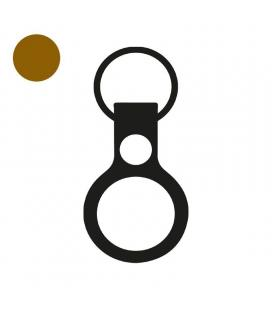 Apple airtag llavero cuero/ marrón caramelo/ mx4m2zm/a - Imagen 1