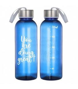 Botella jocca 1516/ capacidad 500ml/ azul - Imagen 1