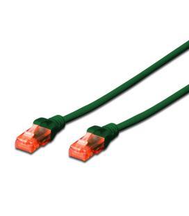 Ewent EW-6U-020 cable de red Verde 2 m Cat6 U/UTP (UTP)