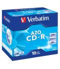 Verbatim CD-R AZO Crystal 700 MB 10 pieza(s) - Imagen 3