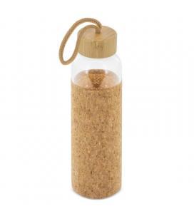 Botella de cristal club náutico z-1093/ capacidad 500ml/ corcho natural - Imagen 1