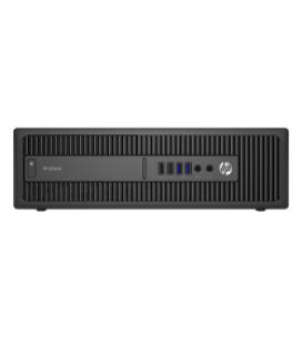600 G2 SFF i3-6100/4GB/500GB/DVDRW/W10P COA (R4) - Imagen 1
