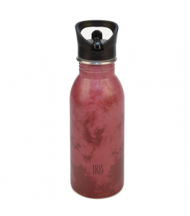 Botella de acero iris rosa fun/ capacidad 500ml/ rosa - Imagen 1