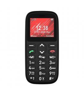 Teléfono móvil telefunken s410 para personas mayores/ negro