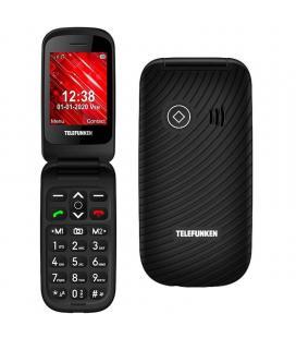 Teléfono móvil telefunken s440 para personas mayores/ negro