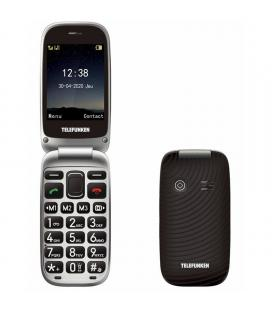 Teléfono móvil telefunken s540 para personas mayores/ negro