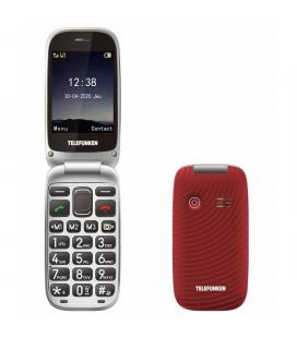 Teléfono móvil telefunken s540 para personas mayores/ rojo