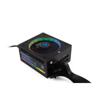 CoolBox RGB-850 Rainbow unidad de fuente de alimentación 850 W 20+4 pin ATX ATX Negro - Imagen 1
