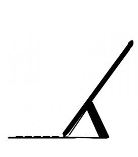 Teclado inalámbrico apple magic keyboard/ negro/ para ipad pro 12.9' 3ª y 4ª y 5ª generación - Imagen 1