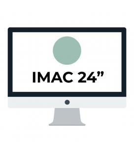 Apple imac 24' retina 4.5k/ chip m1 cpu 8 núcleos/ 8gb/ 256gb/ gpu 8 núcleos/ verde - Imagen 1