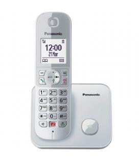 Teléfono inalámbrico panasonic kx-tg6851sp/ plata