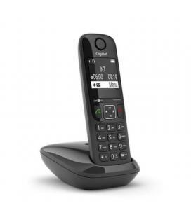 Teléfono inalámbrico gigaset as690/ negro