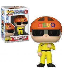 Funko pop estrellas del rock devo satisfaction traje amarillo 55791 - Imagen 1