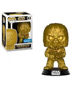 Funko pop star wars chewbacca dorado edicion especial - Imagen 1