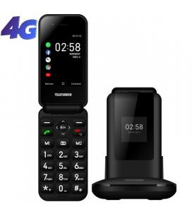 Teléfono móvil telefunken s760 para personas mayores/ negro