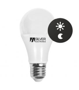 Bombilla led sensor silver electronics estandar 10w=70w - e27 - 3000k - 810 lm - 140º - luz calida - a+