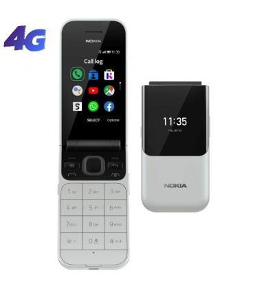 Teléfono móvil nokia 2720 flip dual sim/ gris - Imagen 1