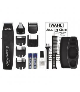 Cortabarbas wahl groomsman all in 5537-3016/ con batería/ 11 accesorios