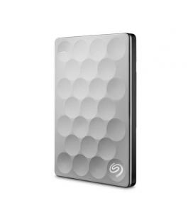 "SEAGATE HD EXTERNO  BACKUP PLUS ULTRA SLIM PORTABLE 1TB USB 3.0 2.5"" PLATA - Imagen 1"