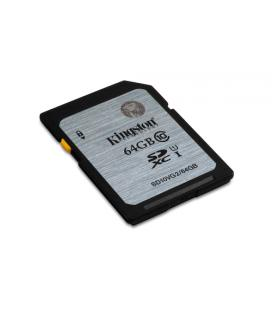 Kingston Technology Class 10 UHS-I SDXC 64GB 64GB SDXC UHS Class 10 memoria flash - Imagen 1