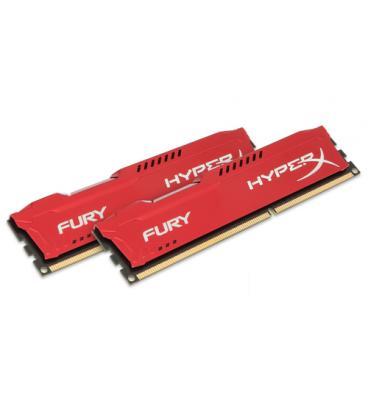 HyperX FURY Red 8GB 1866MHz DDR3 - Imagen 1