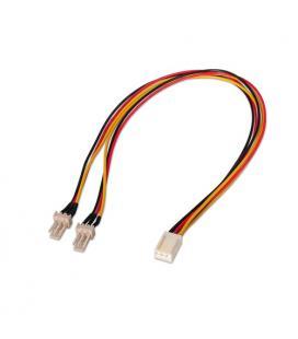 Nanocable 10.19.0801 Interno 0.3m Molex (3-pin) 2 x Molex (3-pin) Negro, Rojo, Amarillo cable de tra