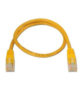 Nanocable 10.20.0100-Y 0.5m Cat5e U/UTP (UTP) Amarillo cable de red