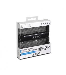 Tooq Batería Externa 2600MAH 1USB 5V/1A Negro