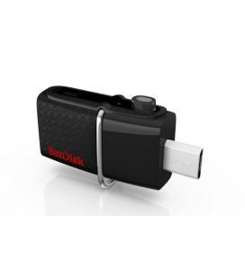 Sandisk 64GB Ultra Dual USB 3.0 64GB USB 3.0 (3.1 Gen 1) Type-A Negro unidad flash USB
