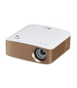 LG PH150G 130lúmenes ANSI LCOS 720p (1280x720) Portable projector Oro, Color blanco videoproyector - Imagen 1