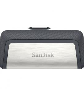 Sandisk Ultra Dual Drive USB Type-C 64 GB 64GB USB 3.0 (3.1 Gen 1) Type-A/Type-C Negro, Plata unidad