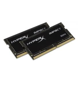 MEMORIA KINGSTON HYPERX IMPACT BLACK SODIMM DDR4 32GB KIT2 2666MHZ CL15
