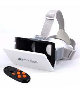 Gafas de Realidad Virtual + Mando blancas