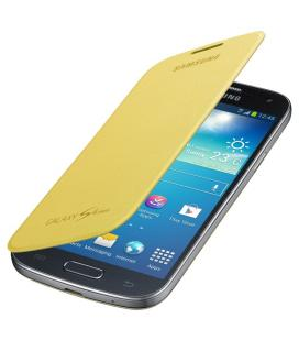 Funda libro Samsung EF-FI919BY amarillo para Galaxy S4 Mini