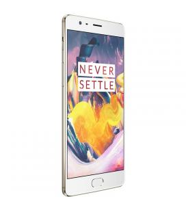 OnePlus 3T Android Smartphone - Quad-Core CPU, 6GB RAM, Android 6.0, 16MP Camera, 5.5 Inch Gorilla Glass, 4G (Gold) - Imagen 1