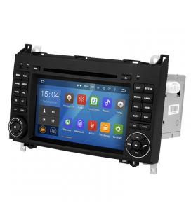 Dual-DIN Car DVD Player For Mercedes-Benz B200 - 7-Inch, Android OS, Quad-Core CPU, 3G Dongle Support, GPS, Wi-Fi - Imagen 1