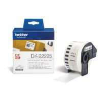 Cinta continua de papel térmico brother dk22225 - anchura 38mm - bobina 30.48m