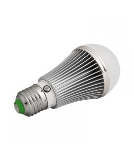 7 Watt E27 LED Light Bulb - 610 Lumen, Light Sensor, 14 LEDs, 4000K Color Temp, 25000 Hours Life - Imagen 1