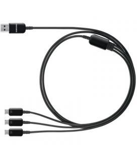 Cable multicarga 3 en 1 Samsung ET-G900UB negro