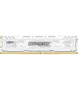 Crucial Ballistix Sport LT 8GB DDR4 2400MHz Blanca