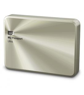"""Western Digital My Passport Ultra Metal 2Tb 2.5"""" USB 3.0. Gold."""
