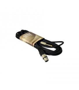 CABLE XLR HEMBRA A JACK 6,3 MONO JACK 5m QP AUDIO