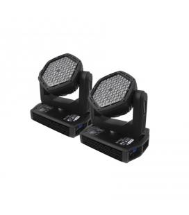 SET 2 CABEZA MOVIL LED MX-ZEUS + RACK