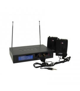 DOBLE MICROFONO PETACA INAL.VHF 2 CANALES PSK-AUDIO