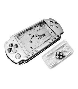 Carcasa Completa PSP 3000 Plata - Imagen 1