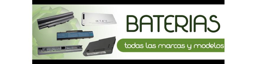 Baterias para portatiles