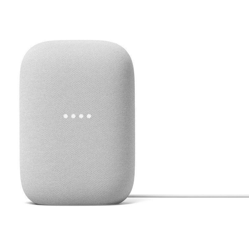 Altavoz inteligente google nest audio tiza - wifi 2.4/5ghz - controles tactiles - asistente google integrado - app compatible