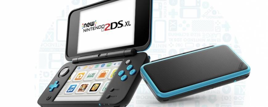 New Nintendo 2DS XL: 82% más pantalla y más ligero